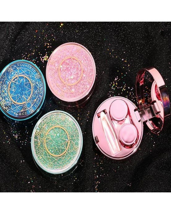 Magic Contacts lens Case Online Blue Pink Green