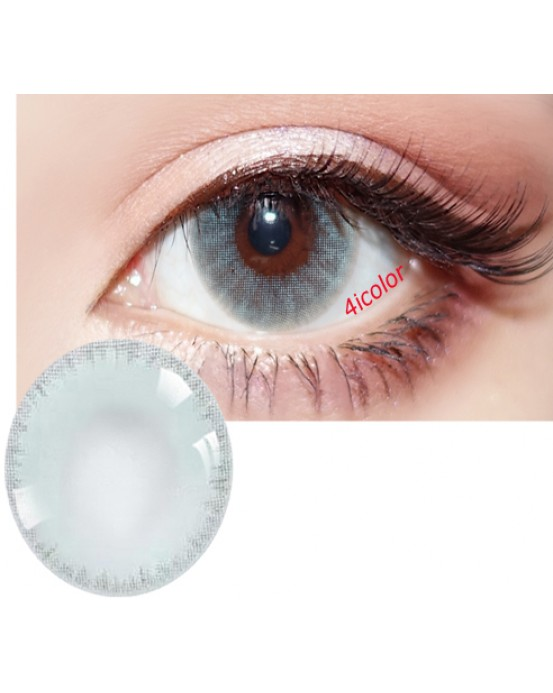 4ICOLOR Edge ICE COLORED CONTACT LENSES BLUE