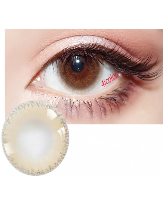 4ICOLOR Edge ICE COLORED CONTACT LENSES Brown