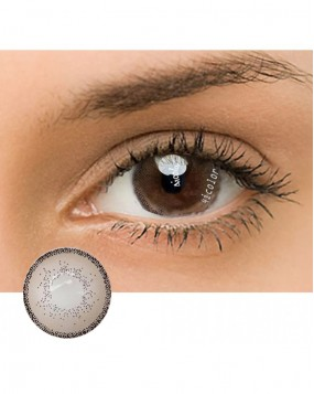 4ICOLOR  EDGE COLORED CONTACT LENSES BROWN