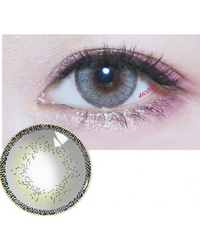 4ICOLOR  EDGE GREY COLORED CONTACT LENSES