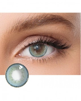 4ICOLOR  EDGE COLORED CONTACT LENSES BLUE