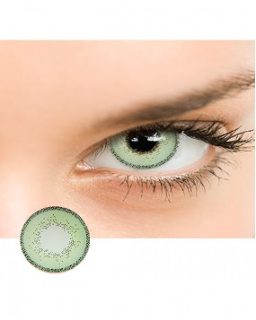 4ICOLOR  EDGE COLORED CONTACT LENSES Green