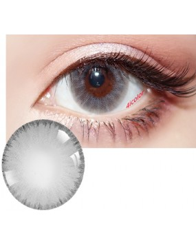 4ICOLOR Edge ICE COLORED CONTACT LENSES Gray