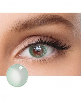 4ICOLOR  ICE GREEN COLORED CONTACT LENSES