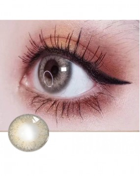 4ICOLOR® Colored Circle Contact Lens Caty Brown