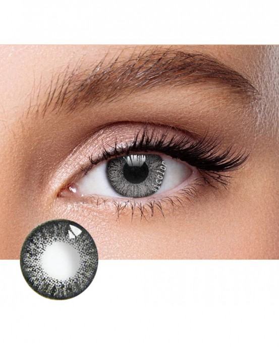 4ICOLOR® DARK GRAY TWO TONE COLORED CONTACT LENSES