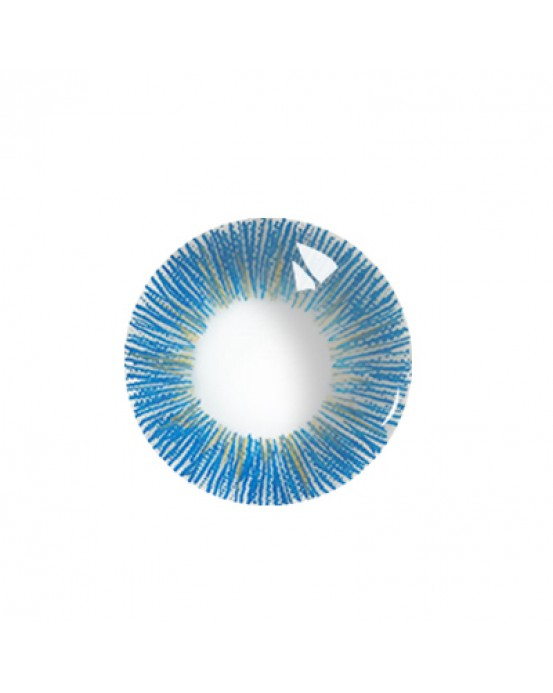 4icolor® 3 Tone colored contact lens Sunny Blue