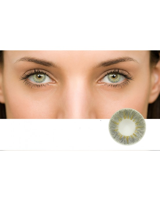 4icolor® 3 Tone colored contact lens Sunny Grey