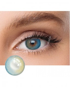 4icolor® 3 Tone colored contact lens Tierra