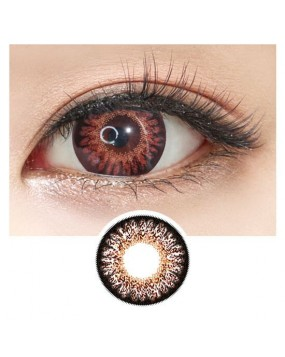 4ICOLOR® Colored contacts lens GEO Bambi Chocolate