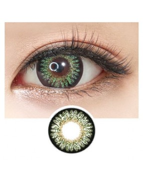 4ICOLOR® Colored contacts lens GEO Bambi Green