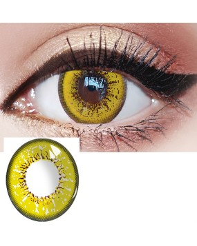 4ICOLOR® Cosplay contact lenses leaves brown