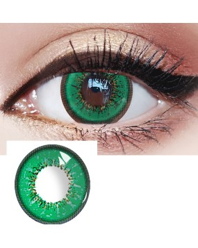 4ICOLOR® Cosplay contact lenses leaves Green