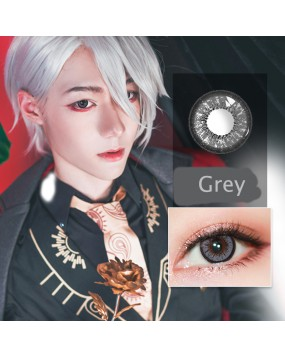 4ICOLOR® Cosplay Colored contact lenses leaves gray