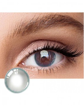 4icolor® 2 Tone colored contact lens HD Blue-Grey