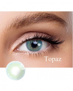 Hidrocor Natural colored contact lens Topaz