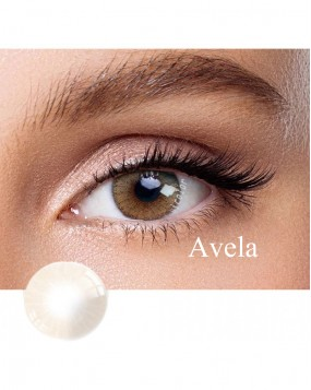 Hidrocor Natural colored contact lens Avela