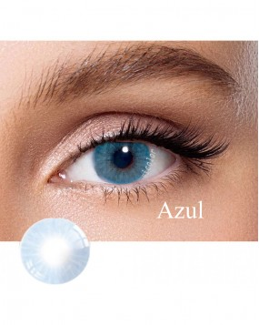 Hidrocor Natural colored contact lens Azul