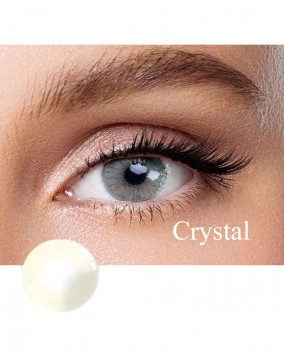 Hidrocor Natural colored contact lens Crystal