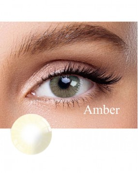 Hidrocor Natural colored contact lens Amber