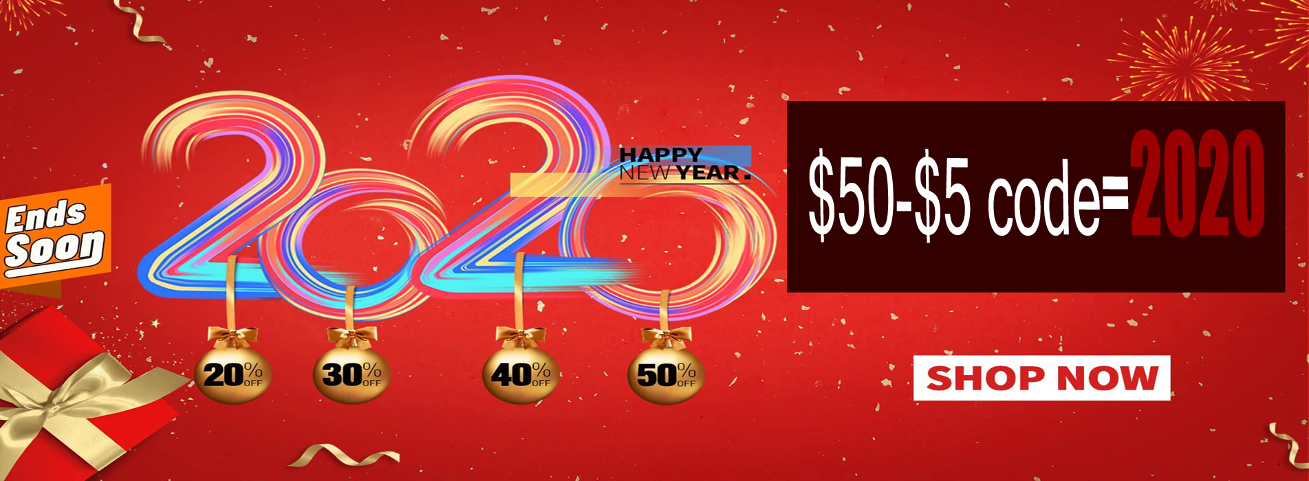 New Year promotion contact lens