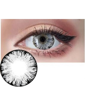 4ICOLOR® One pair Big EYE Black contacts lenses