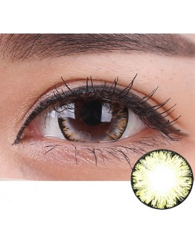 4ICOLOR® One pair Big EYE Brown contacts lenses