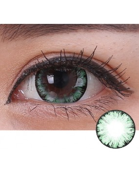 4ICOLOR® One pair Big EYE Green contacts lenses