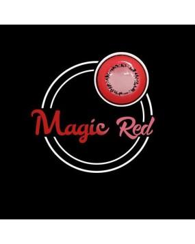 4ICOLOR® Eye Circle Lens Magic Red Naruto Colored Contact Lenses R205