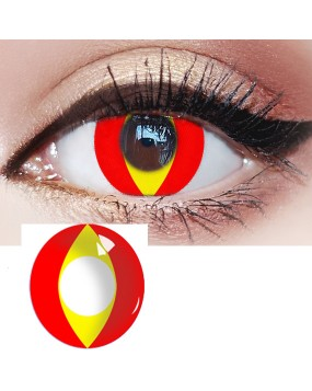 4ICOLOR® Red colored contact lenses-Pat#21