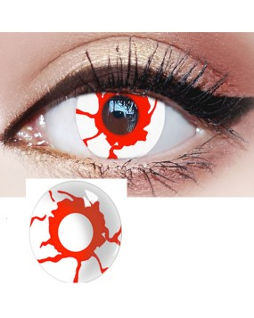 4ICOLOR® colored contact lenses Reddish Dream Naruto