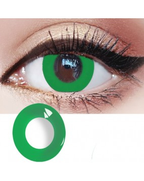 4ICOLOR® Pure Green Naruto Colored Contact Lenses G301