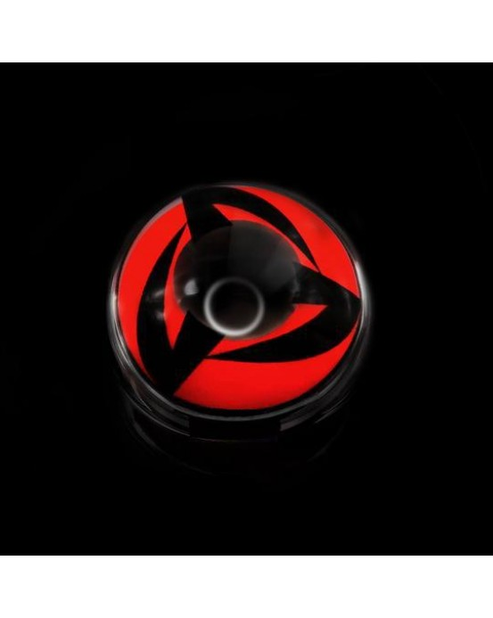 4icolor® Eye Circle Colored Lens Sharingan Kakashi Naruto  R203