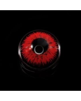 4ICOLOR® Mystery Red Colored Contact Lenses R204 2pairs
