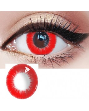 4ICOLOR® Red colored contact lenses-Pat#41