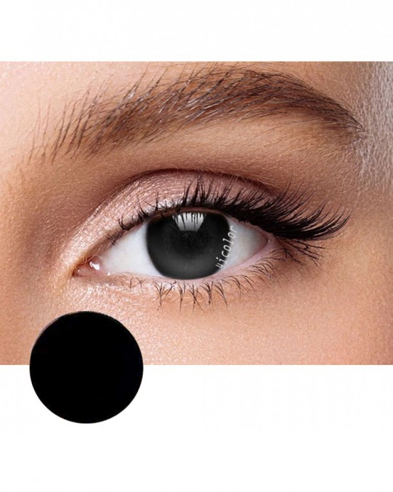 4ICOLOR® Circle Whole Black Colored contact lens B1020
