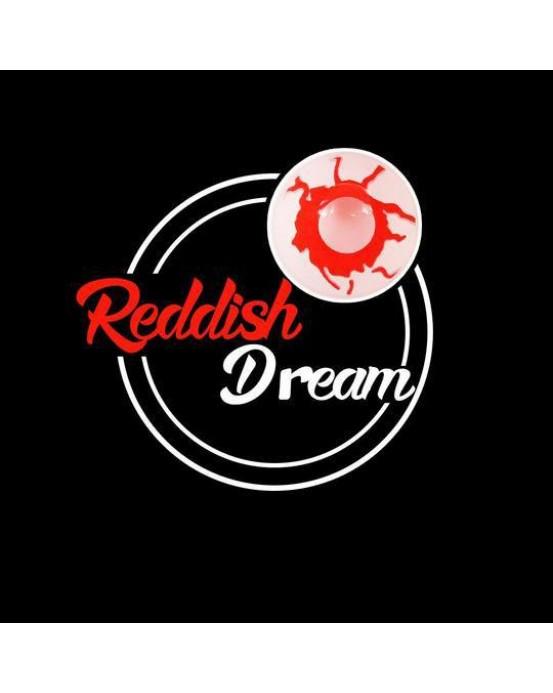 4ICOLOR® colored contact lenses Reddish Dream Naruto