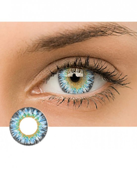 4ICOLOR® Dreamy Colored Contacts Lenses Blue
