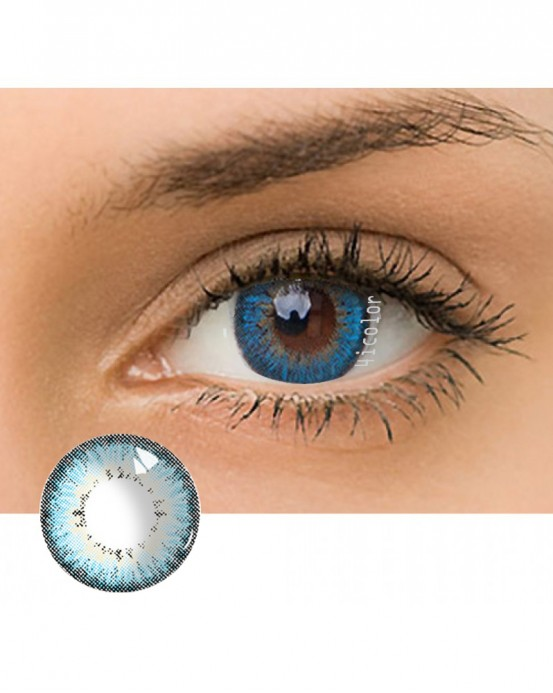 4ICOLOR® Dream Crystal Ball Colored contact lens-Blue