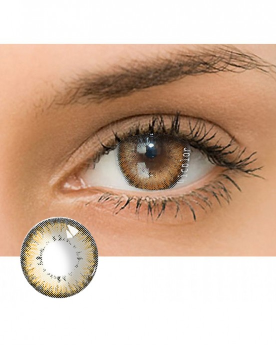 4ICOLOR® Dream Crystal Ball Colored contact lens-Brown