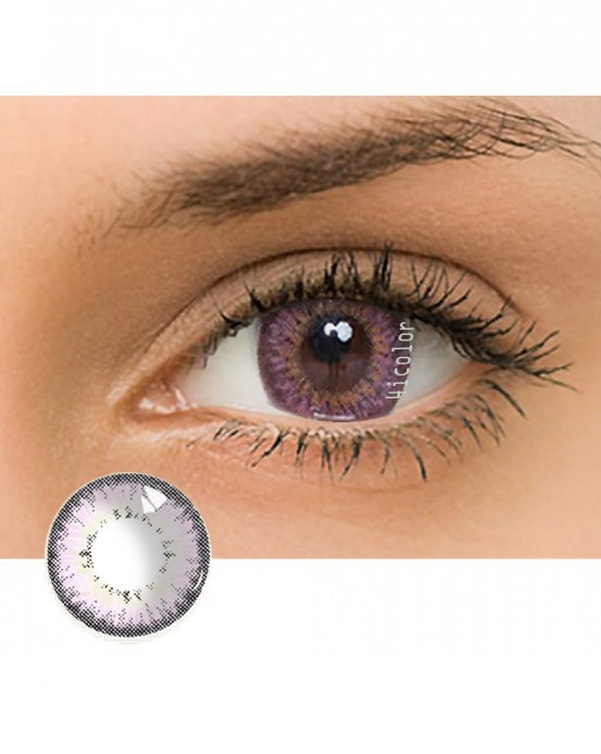 4ICOLOR® Dream Crystal Ball Colored contact lens-Pink