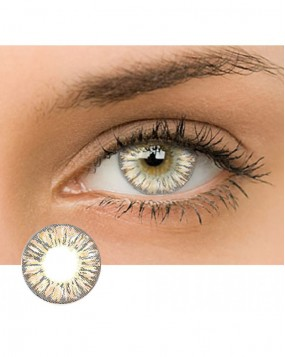 4ICOLOR® Dream Flower Colored contact lens-Brown