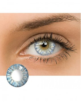 4ICOLOR® Dream Flower Colored contact lens-Blue