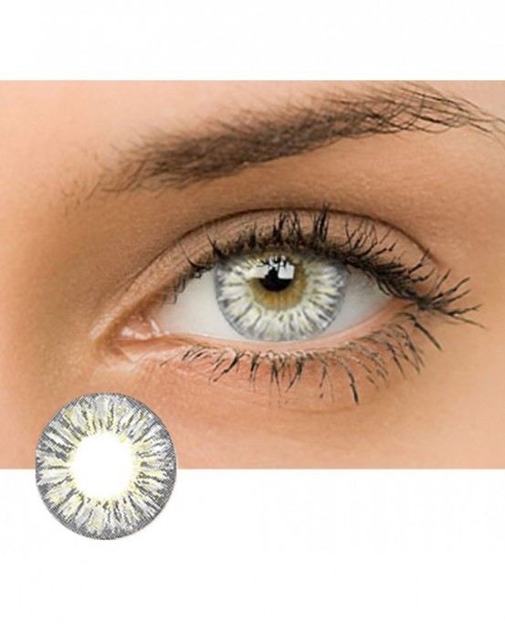 4ICOLOR® Dream Flower Colored contact lens-Gray