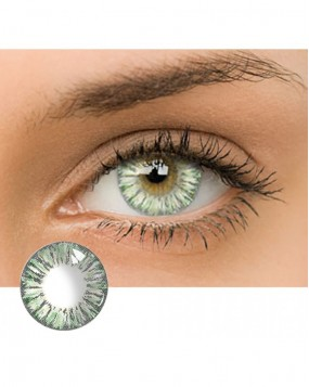 4ICOLOR® Dream Flower Colored contact lens-Green