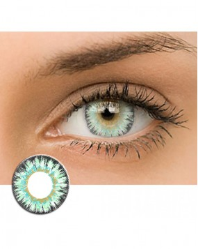 4ICOLOR® Circle Lens Dreamy Contacts-Green