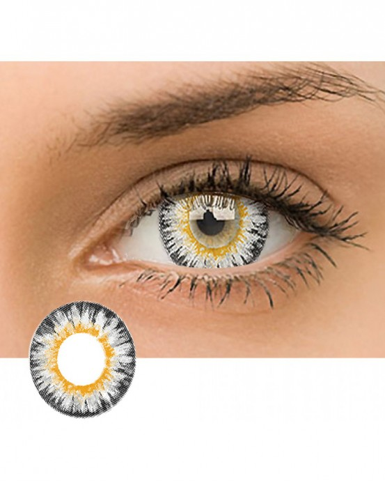 Magic Dreamy Coloured Contact Lens Gray