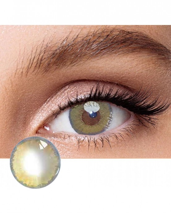 4icolor® 3 Tone colored contact lens Juice Brown