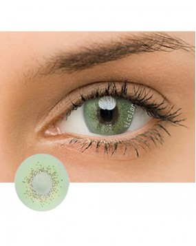 4ICOLOR® Colored Circle Contact Lens Ocean Green 4I907